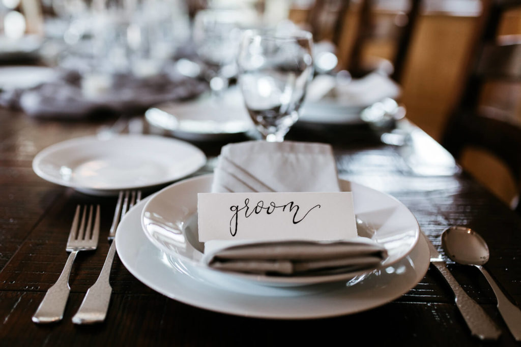 Wedding Table Plates