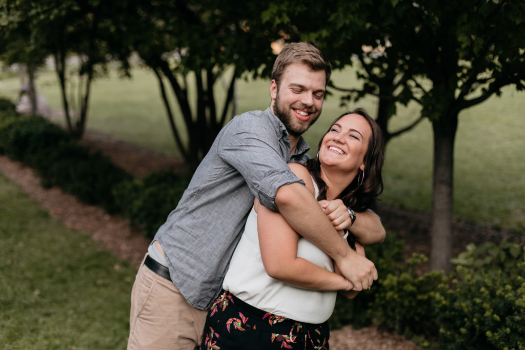 Midtown Omaha Engagement Photos